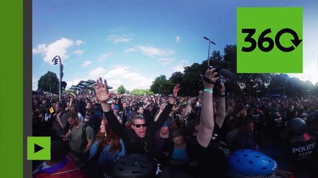 Hambourg à 360° : la manifestation qui a clôturé le sommet du G20