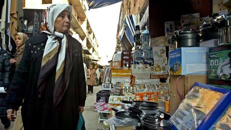 Un marché à Alger, photo d'archive