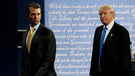 Donald Trump avec son fils