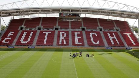 Les tribunes du stade Galgenwaard d'Utrecht