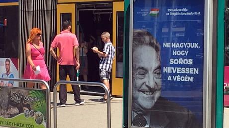 Le gouvernement hongrois met fin à la campagne contre Soros avant la venue de Netanyahou
