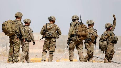 Photo d'illustration. Des soldats américains en Afghanistan