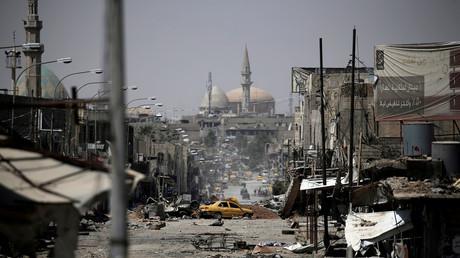Mossoul après sa reprise par l'armée irakienne le 11 juillet