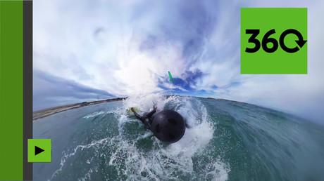 Kitesurf à 360 : profitez des vagues en Croatie