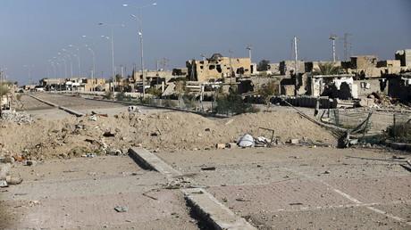 Illustration : les ruines de la ville irakienne de Ramadi