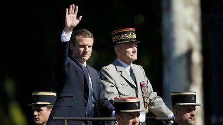 Emmanuel Macron et le général Pierre de Villiers.