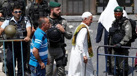 Des musulmans à Jérusalem-Est