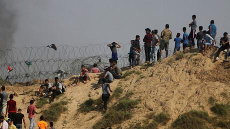 Tsahal emploie du gaz lacrymogène contre des manifestants palestiniens à Gaza (VIDEO)