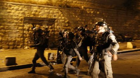 Des membres des forces de l'ordre israéliens (Image d'illustration)
