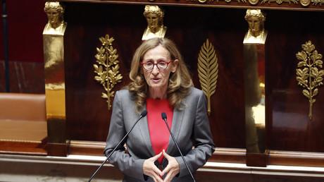 Le ministre de la Justice Nicole Belloubet