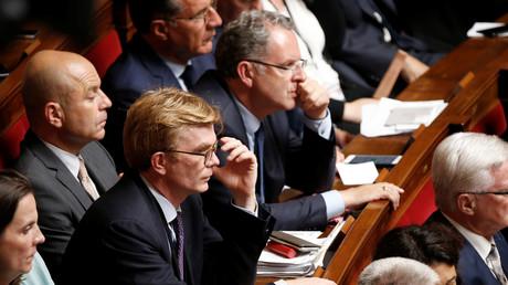 Richard Ferrand dans les rangs de l'Assemblée nationale