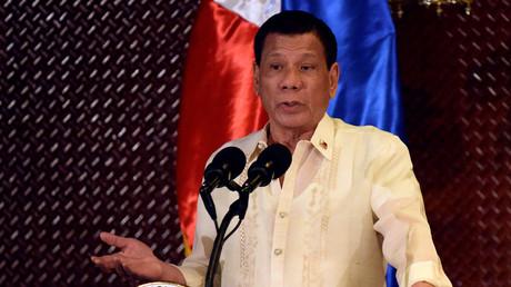 Rodrigo Duterte lors d'une cérémonie le 18 juillet dernier