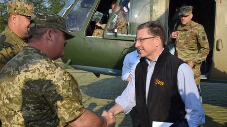 Kurt Volker, représentant spécial des Etats-Unis en Ukraine, photo ©Ministère de la Défense ukrainien