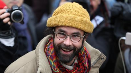 Le militant pro-migrants Cédric Herrou