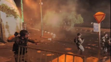 Des affrontements à Jérusalem