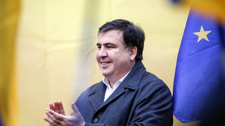 L'ex-président géorgien Mikheïl Saakachvili