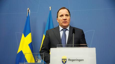 Le Premier ministre suédois Stefan Löfven