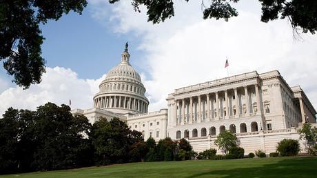 Bâtiment du Congrès américain à Washington