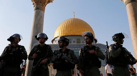 Des policiers israéliens