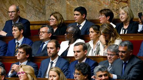 Députés de la République en marche à l'Assemblée Nationale