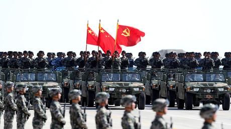 Défilé militaire en Chine, le 30 juillet 2017