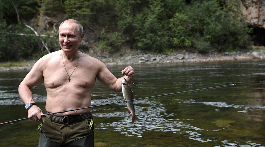 Pause estivale : Vladimir Poutine pêche le brochet en Sibérie (PHOTOS, VIDEO)