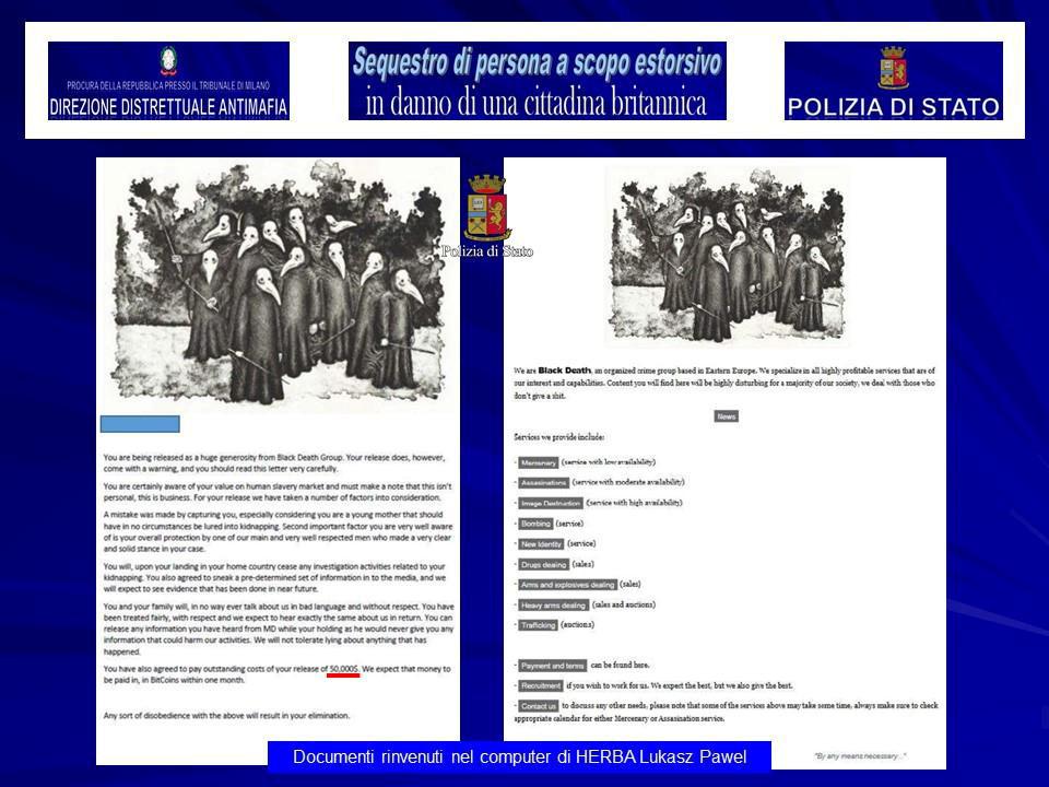 Italie : une mannequin britannique kidnappée pour être vendue aux enchères sur le dark web