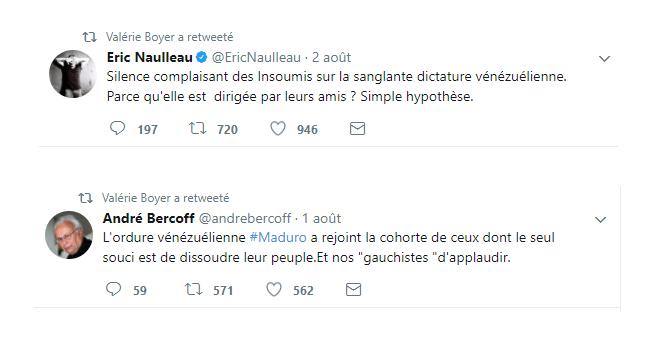 «Dictature» vs «impérialisme américain» : la classe politique française se déchire sur le Venezuela
