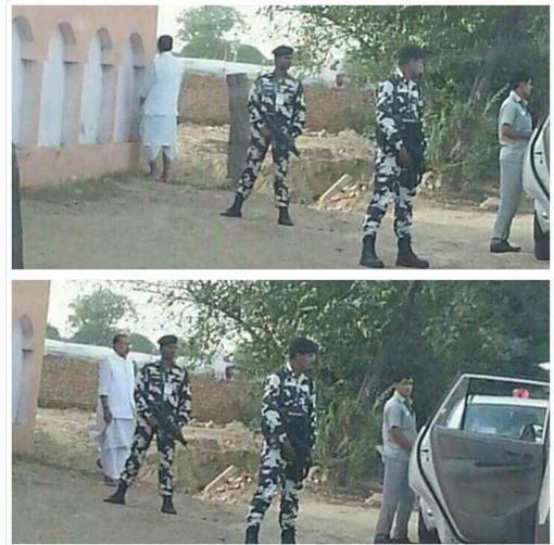 Un ministre indien urine dans la rue en pleine campagne contre l'insalubrité des villes (PHOTOS)