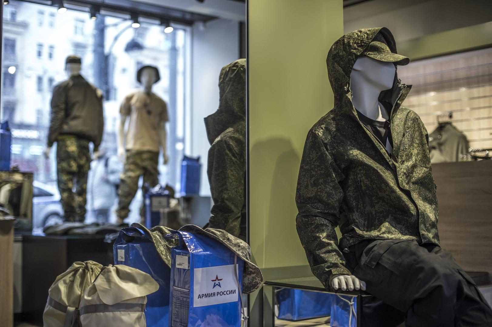 La marque de vêtements «Armée de Russie» à l'assaut des marchés étrangers (IMAGES)