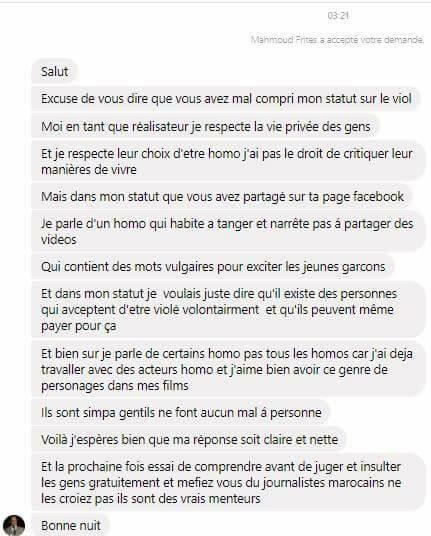 Violemment agressé, un Youtubeur gay marocain accuse un réalisateur ayant appelé à son viol