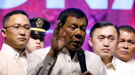 Le président Rodrigo Duterte