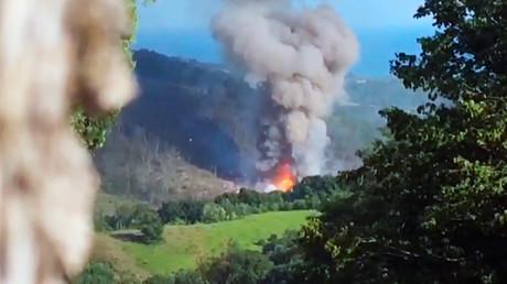 Explosion dans un dépôt de munitions en Abkhazie : deux morts et des dizaines de blessés (VIDEO)
