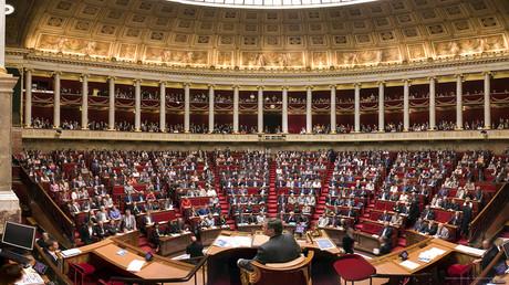 Intérieur de l'Assemblée nationale