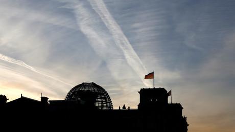 Le Reichstag, siège du Parlement allemand à Berlin