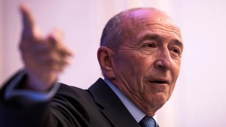 Le ministre de l'Intérieur Gérard Collomb