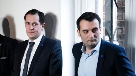 Nicolas Bay et Florian Philippot