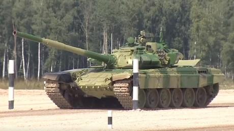 La demi-finale des Jeux internationaux des armées bat son plein près de Moscou