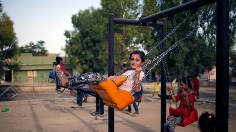 Des enfants yézidis en Irak (illustration)