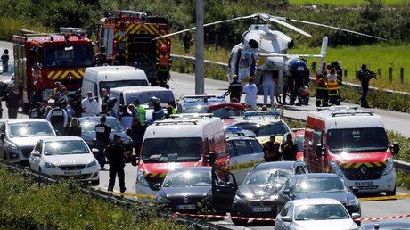 L'interpellation du suspect a eu lieu sur l'autoroute A16