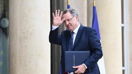 Richard Ferrand, éphémère ministre de la Cohésion des territoires