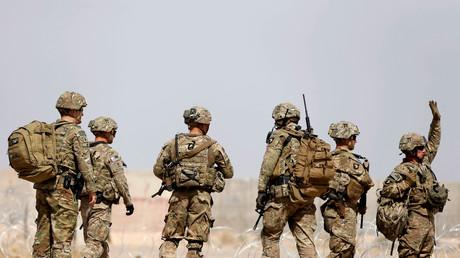 Des troupes américaines en Afghanistan