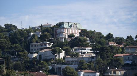 Des villas dans le parc Talabot au Roucas Blanc àMarseille, où loge le président pour ses vacances