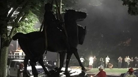 La statue du général Lee retirée à Baltimore