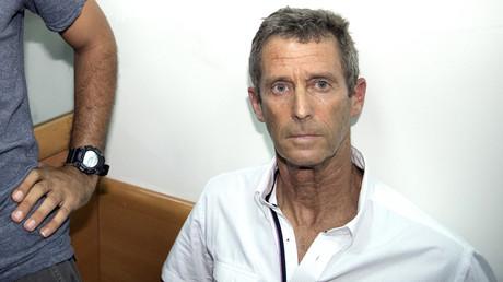Beny Steimetz comparaît à Tel Aviv, le 14 août 2017