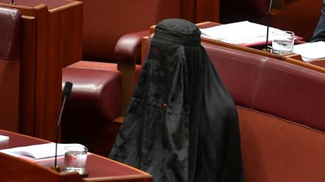 Pauline Hanson au sénat australien