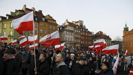 Une manifestation anti-immigration à Varsovie, le 6 février 2016