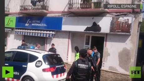 Vidéo de l'arrestation du quatrième suspect en lien avec les attentats de Catalogne