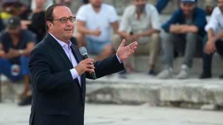 François Hollande, ici le 21 juillet 2017, photo ©BERTRAND LANGLOIS / AFP