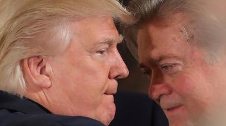 Donald Trump et Steve Bannon